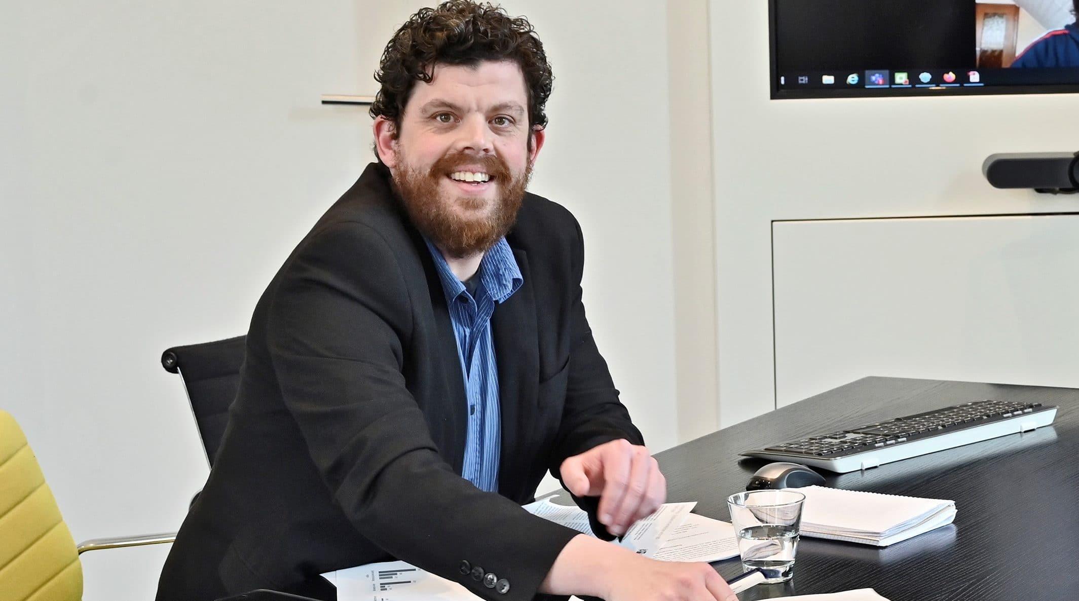 Gregor Werkle, Leiter Wirtschaftspolitik bei der IHK.